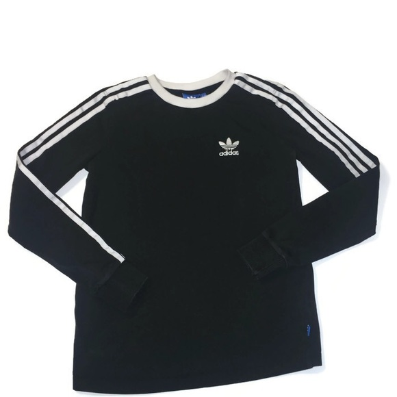 2a7729bd adidas Tops | Originals 3 Striped Long Sleeve Tshirt | Poshmark
